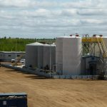 Waste Facility Fabrication in Anzac, AB